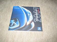 Peugeot Press Kit Prospekt Brochure von 2007, 36 Seiten + CD-ROM
