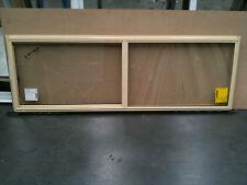 Aluminium Sliding Window 600h x 1810w Primrose (Brand New)