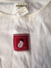 Baby Gap Girls White Cotton Long-Sleeved T Shirt Size 3XL 30-36 Months