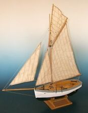 "Elegant, finely detailed wooden ship kit by the venerable Soclaine: ""Le Rigel"""