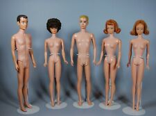 New ListingVintage 1960s Barbie, Ken, Midge Dolls Lot Of 5 Dolls