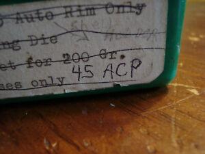 RCBS 45 ACP 3 die set