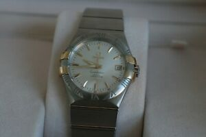 Omega Constellation Automatic Co-Axial Cal 2500 Gold Claws 123.20.35.20.02.004