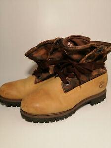 Timberland Roll-Top Boots UK SIZE 9.5 , EU44, US 10