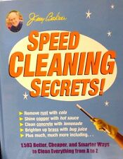 Speed Cleaning Secrets: 1,593 Better, Cheaper and Smarter Ways Jerry Baker New