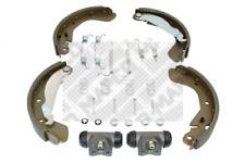 Bremsbackensatz für Bremsanlage Hinterachse MAPCO 9731