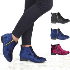 Women's Velvet Riding Boots
