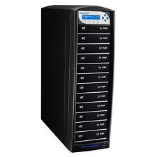 SharkBlu 12 Target Blu-ray DVD CD Duplicator w/ 500GB HDD + USB 3.0 CopyConnect