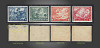 1933 GERMANY WAGNER LOT NEVER HINGED  SCT.50 52 53a 54a MI.500A 502A 503B 504B
