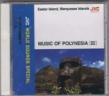 Music Of Polynesia (III) - Easter Island And The Marquesa- CD (Brand New Sealed)