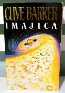 Imajica! 1992 Special Overseas Edition Book by Clive Barker!