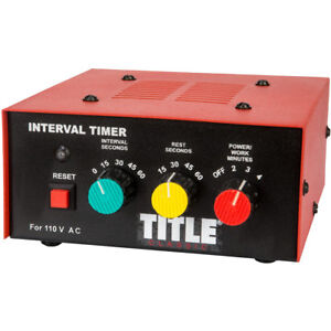 Title Boxing Classic Personal Training Workout Interval Gym Timer