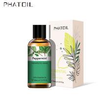 PHATOIL 30ml Huiles essentielles d'aromathérapie pure menthe poivrée biologiques