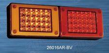 LED Mini JUMBO Tail light, Progressive Amber/Red Truck,Bus,Ute,Trailer,Caravan