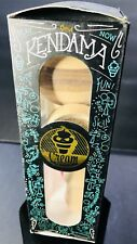 Rare!!!! Kendama CREAM  Wood Toy W/ Extra String, Trick/Instruction Paper, NEW