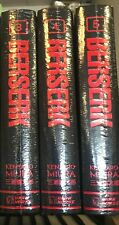 Berserk Hardcover Deluxe Edition Volumes 3-5 BRAND NEW SEALED!! English!