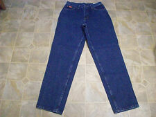 NWT BRITTANIA 5 Pocket Straight Leg Cotton Denim Jeans 28X31 Women 8 Avg #3598