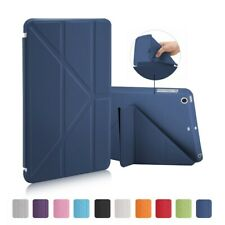 Case For iPad 1 2 3 Leather Ultra Slim Soft TPU Back Smart Cover