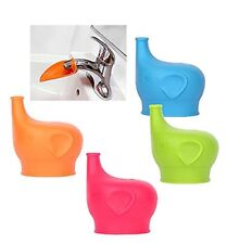 Sippy Cup Lids 4 Pack Faucet Extender Make Any Cup into Spill-Proof Sippy Cup