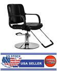 HC125 Woman Barber Chair Hairdressing Chair Black - GT