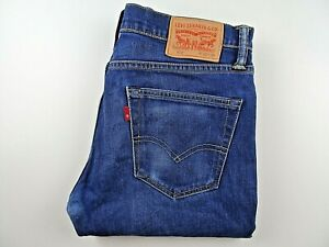 "LEVIS 511 Mens Jeans Slim Fit Blue Stretch Denim SIZE W32 L34 Waist 32"" Leg 34"""