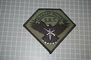 Elkhart Indiana Police SRT Patch (B17-A21)
