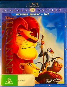 127??sealed-The Lion King (Diamond Edition 2-Disc Set, Blu-ray ?DVD