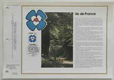 Document philatélique CEF 445 1er jour 1978 Région Ile de France