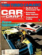 CAR CRAFT Magazine TWIN TURBO CAMARO Mopar Spectacular March 1980 DRAGSTERS