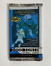 2000 UPPER DECK IONIX FOOTBALL CARD UNOPENED PACK TOM BRADY ROOKIE