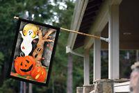Toland Halloween Scene 28 x 40 Spooky Ghost Halloween House Flag