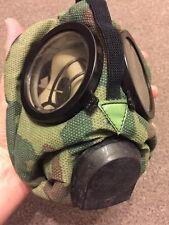 Russian Spetnaz ROU Gas Mask Respirator -- Flora Camo GRU Riot SAS Sealed CS NBC