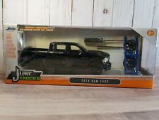 JADA Just Trucks 2014 Dodge Ram 1500 Pickup Truck W/Tire Rack 1:24 Scale Diecast