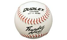 1 Dudley Asa Certified 11 Inch White Girls Leather Softball .44Cor 375 #Wt11Rf80