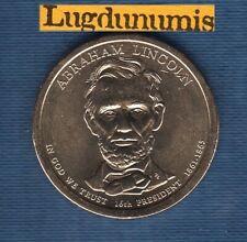 Etats Unis USA One $ 1 Dollar Président 16th Abraham Lincoln 2010 1861-1865 UNC