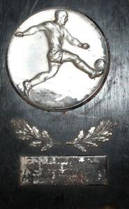 1963 Munich Germany CISM Soccer Football award plaque USA vs GREEECE