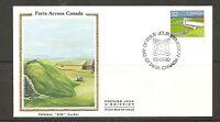Canada SC # 992 Fort Beausejour, New Brunswick FDC. Colorano Silk Cachet