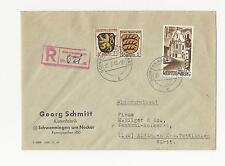 Briefmarken aus der französischen Zone (ab 1945) mit Mischfrankatur