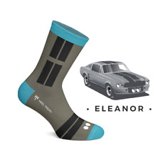 Ford Mustang Eleanor Socks Shelby Gt500 And Midlife Classic Car Sticker