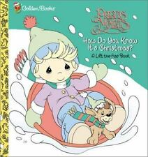 How Do You Know It's Christmas? by Golden Books Staff (2002,...