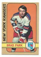 1972-73 O-Pee-Chee #114 Brad Park New York Rangers