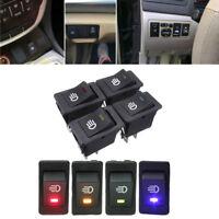 1Pc Car Indicator Rocker Switches SUV LED On/Off Driving Fog Lamp Work Light Bar