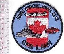 Canada Royal Canadian Air Force RCAF Germany CFB RCAF Station Lahr Radio Control