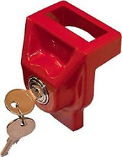 Red Glad Lock Gladhand Lock For Tractor Trailer Gland Hands  035150   2 Key Set