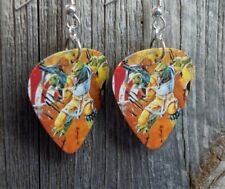 Star Wars Bessk Guitar Pick Earrings with Surgical Steel Earwires