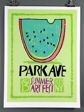 "Park Avenue Summer Festival 2013 Poster, Rochester, NY,  18 x 24"" New, Ave Fest"