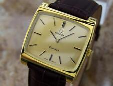 Omega Geneve Swiss Made Manual Cal 620 Gold Plated Mens 1960s Watch MX37