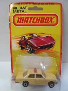 Matchbox Superfast No.56 Mercedes Benz 450sel Taxi - Mint/Boxed