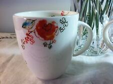 Auction (1) Lenox Fine Bone China Chirp Floral Pattern Coffee/Tea Cup New USA