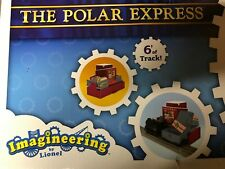 Polar Express Imagineering Lionel Train Set featuring Santa's Toy Factory